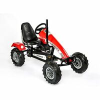 NEW DINO TRACK BF3 PEDAL GO KART WITH 3 GEARS RED X-TRACK KART - ex showroom