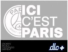 """FC Paris Saint Germain Football Graphic Die Cut decal sticker Car Truck 9"""""""