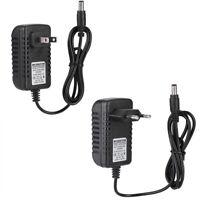 9V/12V/12.6V/16.8V/21V/25.2V 1A Lithium Li-ion Charger Adapter for 18650 Battery