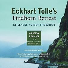 New, Eckhart Tolle's Findhorn Retreat: Stillness Amidst the World: A Book and 2