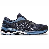 Asics GEL-Kayano 26 2E [1011A542-400] Men Running Shoes Wide Midnight/Grey Floss