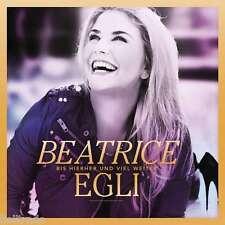 BEATRICE EGLI / BIS HIERHER UND VIEL WEITER * NEW CD * DSDS * NEU *