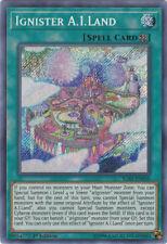 1x Ignister Inseminación Artificial Tierra-IGAS-EN050-rara secreta - 1st Edicion casi nuevo Yugioh! igniti