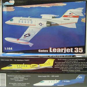 Gates Learjet 35, 1/144, Stransky, USAF, Öamtc , GFD , Plastic, New