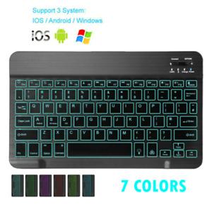 Aluminum Compact Ultra-thin Bluetooth 3.0 Wireless Cordless Mini Keyboard