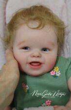 Reborn Doll, prototype, baby girl, prototype Elianna, Bonnie Sieben