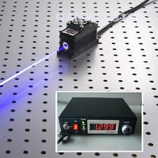 473nm 150mW Blue Laser Dot Module + TTL/Analog + TEC + Adjustable Power 85V-265V