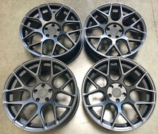 "19"" AVANT GARDE M590 Wheels For Audi R8 RS8 19x8.5""  / 19x11"" Matte Black Rims"