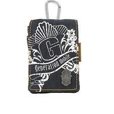 Golla Mobile Smart Bag - Onze 1 Denim G739-Black for Iphone, Blackberry, iPod