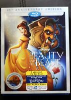 Disney Beauty and the Beast 25th Anniversary Edition DVD Blu-Ray HD French Eng
