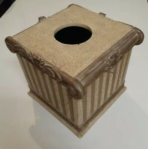 Stone Pillar Boutique Tissue Box, Cover Case, new with tag