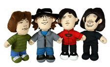 "2008 Fall Out Boy 12"" Talking Plush Set of 4 Andy Pete Joe Patrick Folie à Deux"