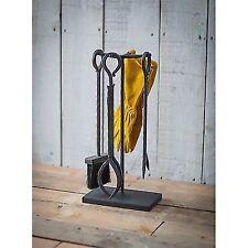 Garden Trading Wrought Iron Wood Burner Set
