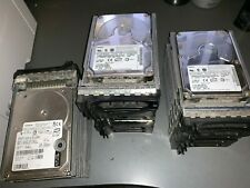 Bundle of Maxtor and Hitachi SCSI Hard drives 73gb x 10 and 36gb x 5 940GB total