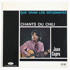 JUAN CAPRA Que vivan los estudiantes ! chile chili 1968 french BAM LD440 LP