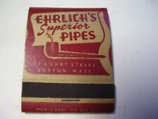 dating ehrlich pipes