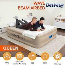 Bestway Alwayzaire Air Bed Queen Size W/built-in Dual Pump 51cm Mattress Camping