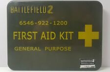 Battlefield 2: Deluxe Edition - PC  First Aid Kit  Collectors Tin 2000 made RARE