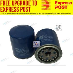 Wesfil Oil Filter WZ334 fits Toyota Land Cruiser 100 Series 4.2 TD (HDJ100),1