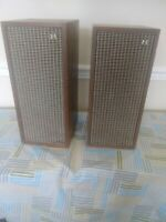 Vintage Pair Of Kanazawa Shelf Or Small Floor Speakers