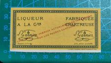 Etiqueta Chartreuse Amarillo Tarragona