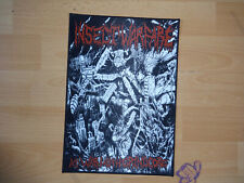 Grindcore Metal Backpatch Patch Kutte Aufnäher Insect Warfare Nasum