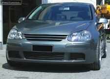 VW GOLF MK V 5 Front Black ABS Badgeless Debadged Grill R32 Grille hood GTI GT