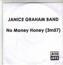 (DA957) Janice Graham Band, No Money Honey - 2011 DJ CD