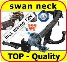 Towbar & Electric 7pin 12N VW Caddy Van 2004 - onwards / swan neck Tow Bar