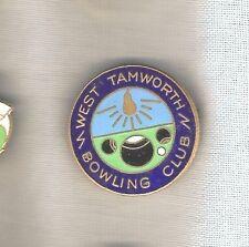 LAWN BOWLING CLUB BADGE - WEST TAMWORTH