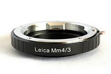 Leica M Lens to Micro 4/3 M4/3 M43 Mount Adapter EPL3 GF3 GX1 EP3 OM-D LM-M43