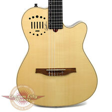 Brand New Godin Multiac Nylon Duet Ambiance Acoustic Electric Guitar B Stock
