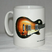 Guitar Mug. Slash's Gibson Les Paul with logo.