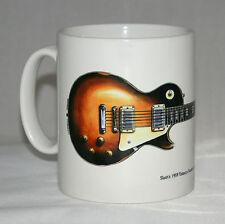 Guitar Mug. Slash's Gibson Les Paul with logo