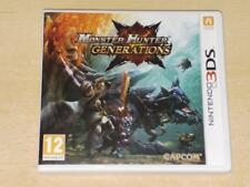 Monster Hunter Generations Nintendo 3DS 2DS UK Game **FREE UK POSTAGE**