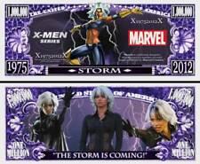 TORNADE BILLET 1 MILLION DOLLAR US! STORM Collection Super Heros X-Men BD Marvel