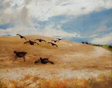 Farquharson David Across The Barley Field Canvas 16 x 20    #3256