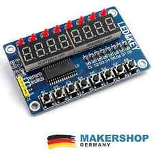 TM1638 LED KEY 8-fach 7-Segment Anzeige Taster LED Display Modul Arduino