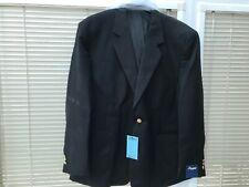 chums single breasted black blazer size 50