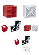 Checkersbox Sompex 4083 Boxen Checkers, 4-er Set 30x30x30 cm, rot