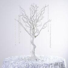 "30"" White MANZANITA TREE with Garlands Wedding Party CENTERPIECES Decorations"
