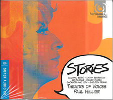 SACD Paul Hillier 'Theatre of Voices-Stories (Berio and Friends)' NUOVO/NEW/OVP