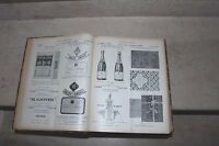 revue les marques internationales fin 1913 et année 1914 complète reliée