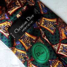 CRAVATTA (TIE)  vintage CHRISTIAN DIOR Monsier Paris made in Italy   New!  rare