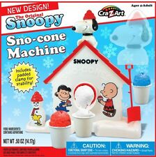 Retro Snow Cone Maker For Kids Kitchen Toy Shaved Ice Machine BRAND NEW!