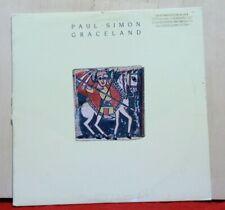 VG PROMO Paul Simon Graceland 1986 25447-1 LP Vinyl Record Album Insert Original