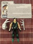 Gi Joe Dial-Tone ( Communications ) 1986 Complete With File Card.