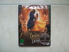 Beauty And The Beast - Blu-ray 2D & 3D Combo Slip Case Edition (2017)