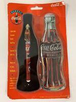 Coca Cola Pen Collectible Ceramic Roller Ball with Coke Bottle Gift Tin 1996