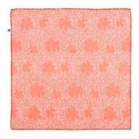Foulard Carré PETIT BATEAU Enfants Mixte Couleur : Orange Taille : 50 x 50 cm